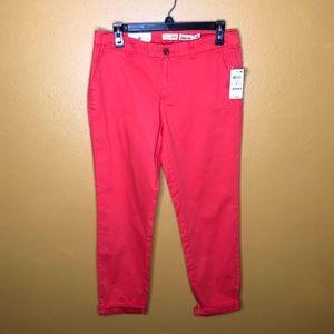Maison Jules Colored Capri Pants, NWT